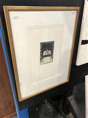 Sale 8841 - Lot 2003 - Artist Unknown, Three Objects, etching and aquatint, signed, 57.5 x 44 (frame)