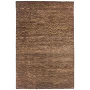 Sale 8890C - Lot 94 - India Natural Rustic Abrash Rug, 287x188cm, Handspun Wool