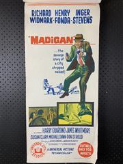 Sale 9003P - Lot 96 - Vintage Movie Poster - Madigan