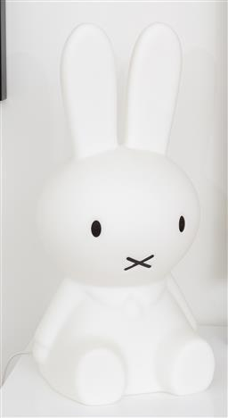 Sale 9150H - Lot 87 - A Mister Maria design large Miffy lamp with international plug, height 52cm
