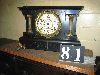 Sale 7504A - Lot 81 - BLACK MANTEL CLOCK