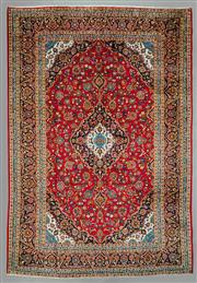 Sale 8539C - Lot 34 - Persian Kashan 420cm x 290cm