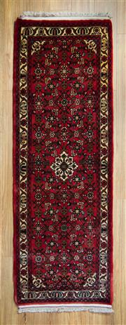 Sale 8566C - Lot 66 - Persian Husinabad Runner 208cm x 70cm