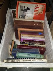 Sale 8563T - Lot 2446 - Box of Mostly Dog Books incl. Harmar, H. Dogs & How to Breed Them; Batten, H.M. British Wild Animals; N.Z. Kennel Gazette; etc