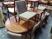 Sale 8661 - Lot 1089 - Good Quality Danish Teak Table and Six Chairs