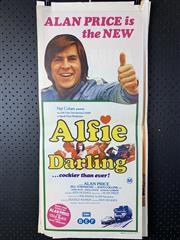 Sale 9003P - Lot 97 - Vintage Movie Poster - Alfie Darling