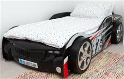 Sale 9150H - Lot 88 - A 47C Flamecrusher car form single kids bed, width 95.5cm, length 190cm