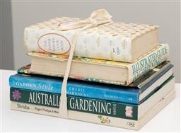 Sale 9248H - Lot 201 - A bundle of gardening and cookery books