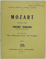 Sale 8314A - Lot 18 - Dame Joan Sutherland Autographed Sheet Music by Mozart