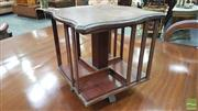 Sale 8375 - Lot 1008 - Early C20th Mahogany Table-Top Revolving Bookcase