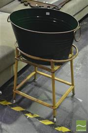 Sale 8368 - Lot 1046 - Ice Bucket on Stand