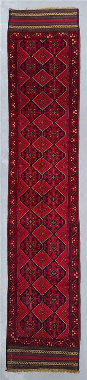 Sale 8480C - Lot 57 - Persian Baluchi Runner 370cm x 70cm
