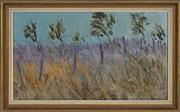 Sale 8716 - Lot 2032 - Kenneth Marshall - Wind in the Grass, 1976 34 x 59.5cm