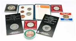 Sale 9164 - Lot 410 - Collection of silver coins and medals