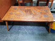 Sale 8476 - Lot 1052 - Prison Art Coffee Table with Queen of Hearts