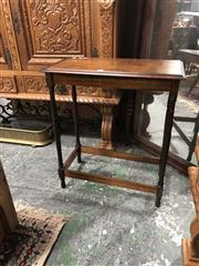 Sale 8697 - Lot 1652 - Small Timber Hall Table