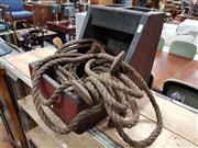 Sale 8740 - Lot 1021 - Vintage Carry All with Block and Tackle