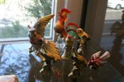 Sale 7876 - Lot 72 - Art Glass Figure of a Bird & Various Ceramic Bird Figures