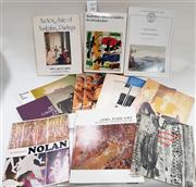 Sale 8822B - Lot 752 - A group of books & Pamphlets on Australian Art, mainly from collection of the ANG