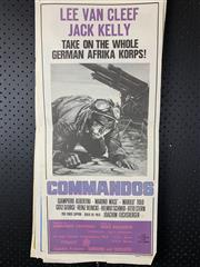 Sale 9003P - Lot 100 - Vintage Movie Poster - Commandos