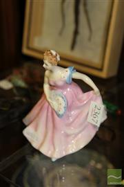 Sale 8236 - Lot 8 - Royal Doulton Figure Invitation