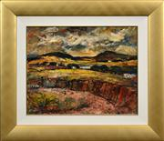 Sale 8408 - Lot 527 - George Feather Lawrence (1901 - 1981) - Landscape and Quarrie, 1960 40 x 50cm