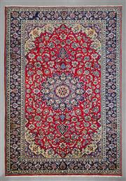 Sale 8539C - Lot 36 - Persian Kashan 360cm x 241cm
