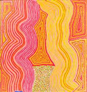 Sale 8743 - Lot 509 - Patju Presley (c1940s - ) - Untitled, 2006 140 x 148cm (stretched and ready to hang)