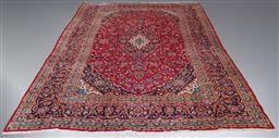 Sale 9134 - Lot 1506 - Hand knotted pure wool Persian Kashan (404x286cm)