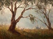 Sale 8597 - Lot 528 - Kevin Best (1932 - 2012) - Off to an Early Start 45 x 60cm