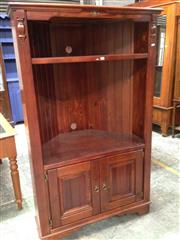 Sale 8740 - Lot 1702 - Timber Corner Cabinet