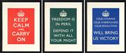 Sale 8797 - Lot 2120 - Keep Calm and Carry On (Home Publicity series) - Keep Calm and Carry On; Your Courage, Your Cheerfulness, Your Resolution Will Bri...
