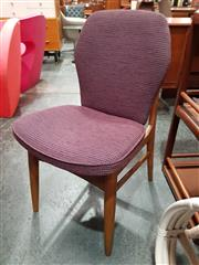 Sale 8782 - Lot 1045 - Set of 4 Upholstered Vintage Dining Chairs