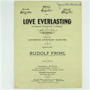 Sale 8314A - Lot 19 - Dame Joan Sutherland Autographed Sheet Music by Rudolf Firml