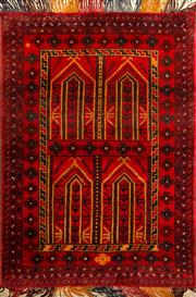 Sale 8335C - Lot 73 - Persian Baluchi 140cm x 85cm