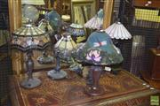 Sale 8359 - Lot 1715 - Collection of Five Table Lamps