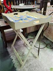 Sale 8580 - Lot 1009 - Butlers Tray On Stand