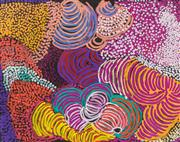 Sale 8696 - Lot 517 - Eileen Stevens (1915 - 2008) - Minyma Tjuta, 2007 117 x 147cm (stretched and ready to hang)