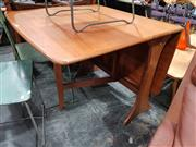 Sale 8723 - Lot 1082 - G Plan Teak Drop Leaf Table