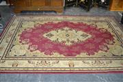 Sale 7987A - Lot 1176 - Turkish Carpet with Central Medallion on Maroon Field (195 x 287cm)