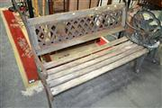 Sale 8161 - Lot 1075 - 3 Seater Bench