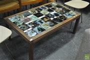 Sale 8364 - Lot 1052 - Tiled Top Coffee Table