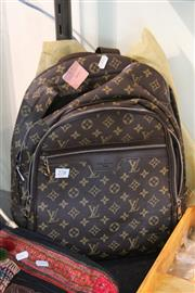 Sale 8362 - Lot 278 - Back Pack, with Custom Fabric Sleeve (2)