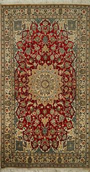 Sale 8439C - Lot 46 - Persian Nain 210cm x 113cm