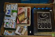 Sale 8548 - Lot 2319 - Collection of items including various Philips globes, Guinness World Records books Year 2000 & 2007, books, puzzles etc.