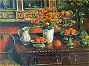 Sale 8808A - Lot 5002 - Margaret Olley (1923 - 2011) - Marigolds and Fruits 2009 78.5 x 108cm