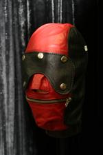 Sale 7926A - Lot 1603 - Red and Black hood on stand