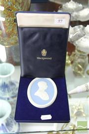 Sale 8217 - Lot 49 - Wedgwood Boxed Limited Edition Plaque of the Prince of Wales