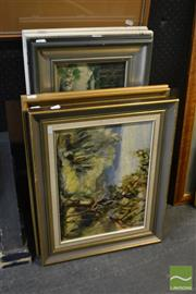 Sale 8541 - Lot 2104 - Collection of Artworks (6 works) incl Aston, Lui & Miyagawa