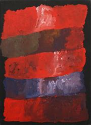 Sale 8611A - Lot 5014 - Kudditji Kngwarreye (c1928 - 2017) - My Country 87 x 63cm (stretched & ready to hang)